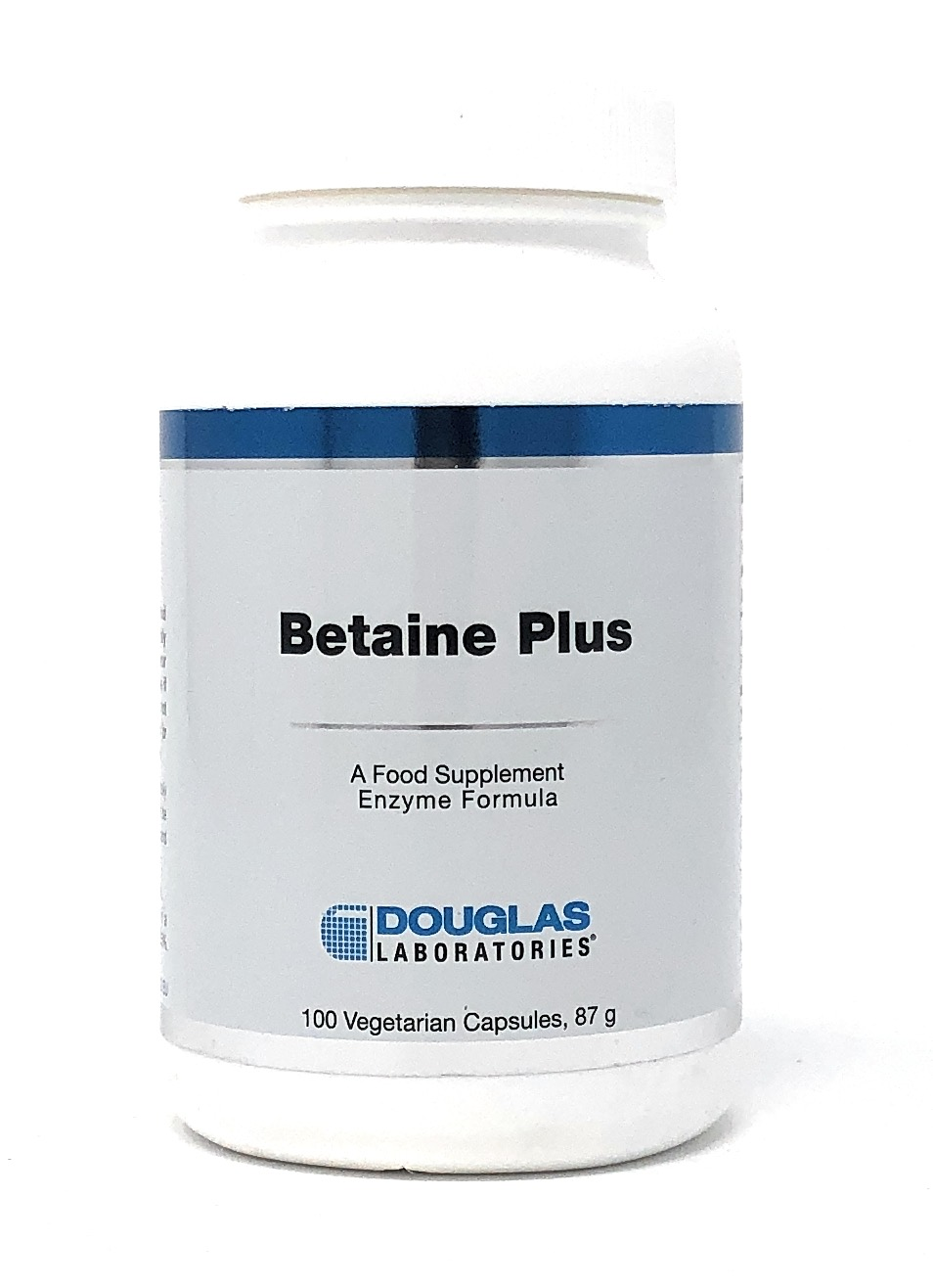 Douglas Laboratories Europe Betaine Plus (650 Betain HCL+140mg Pepsin) 100 Kapseln (87g)
