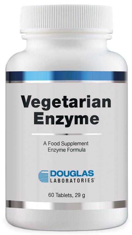 Douglas Labs Vegetarian Enzyme 60 Tabletten (vegan)