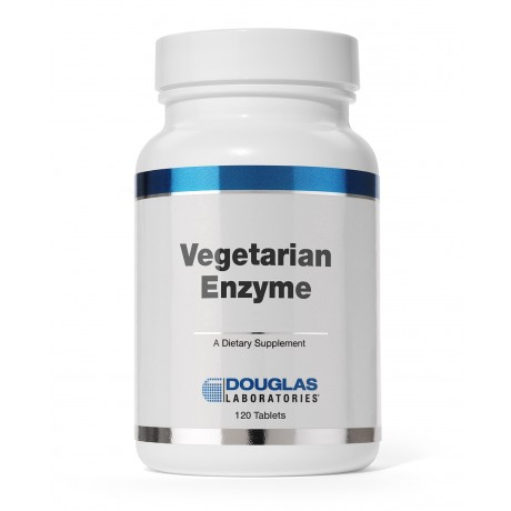 Douglas Labs Vegetarian Enzyme 120 Tabletten (vegan)