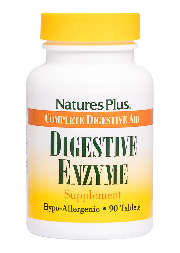 Natures Plus Digestive Enzyme 90 Tabletten