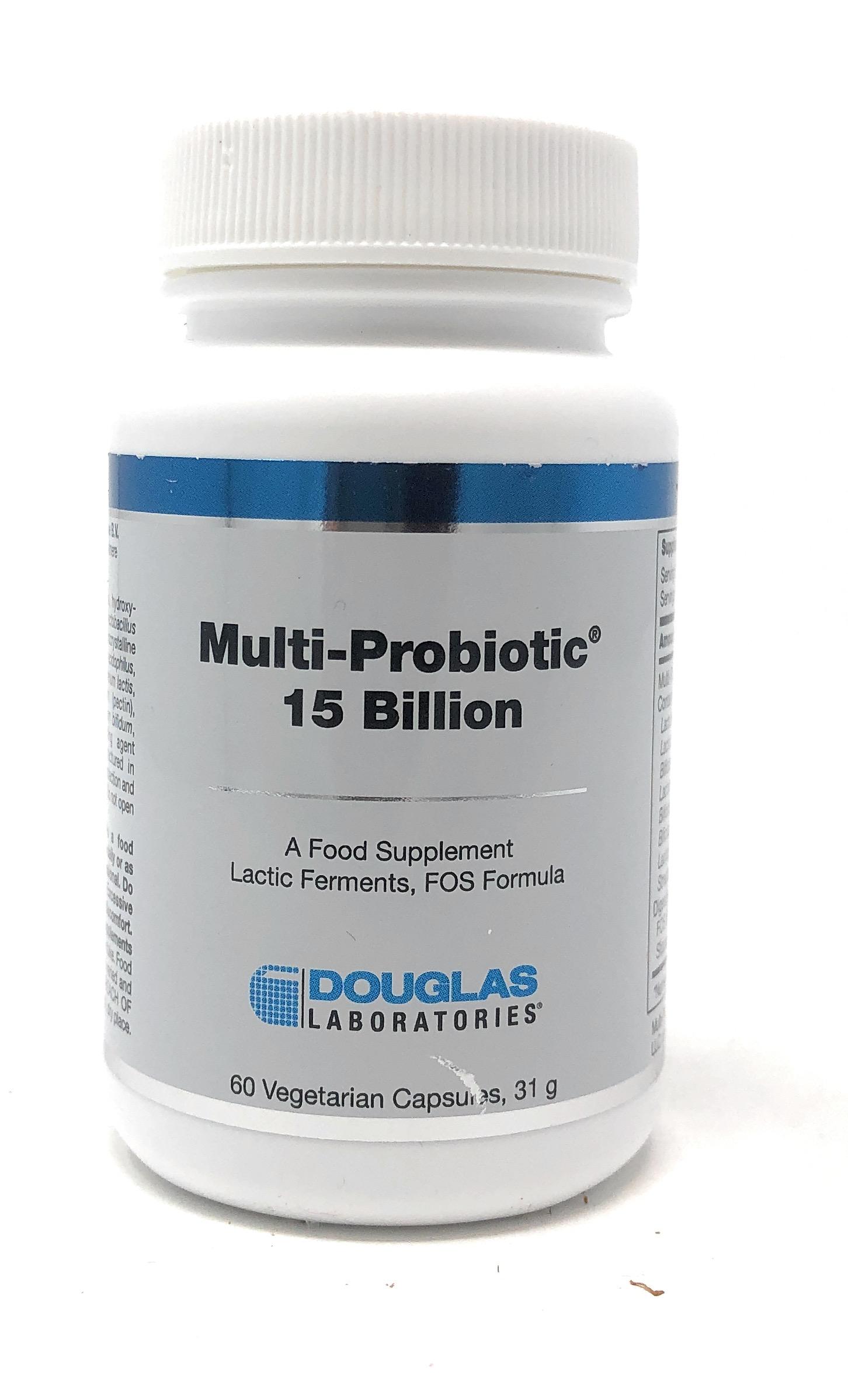 Douglas Laboratories Europe Multi-Probiotic 15 Billion 60 Kapseln (31g)