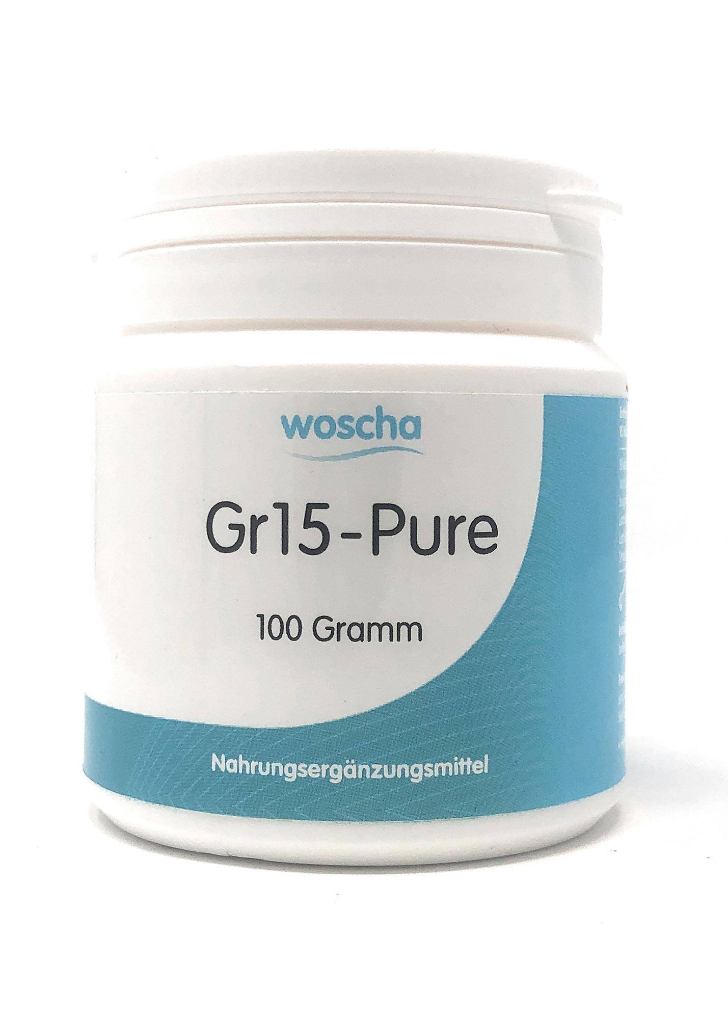 woscha GR15-Pure 100g Pulver