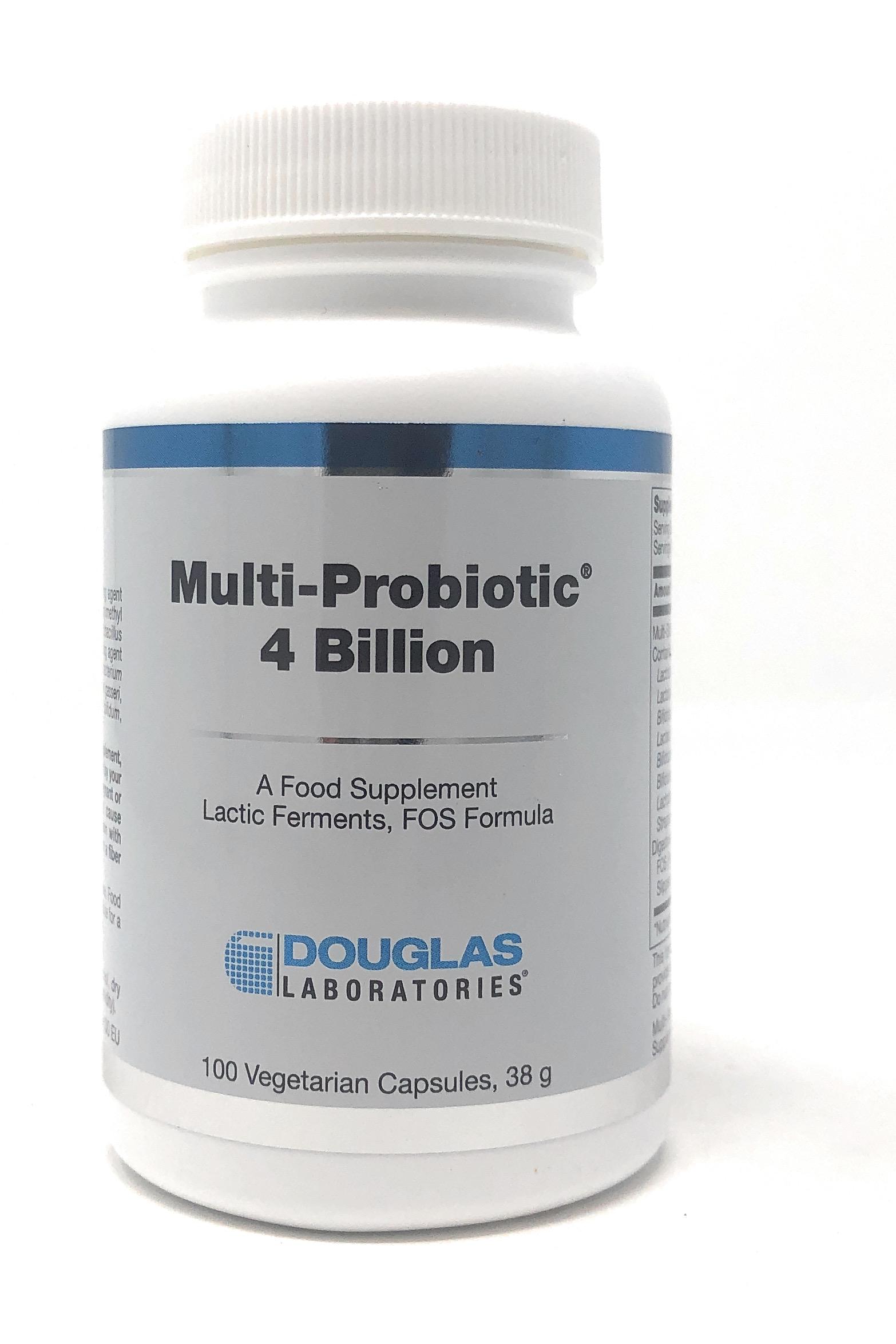 Douglas Laboratories Europe Multi-Probiotic 4 Billion 100 veg. Kapseln (38g)