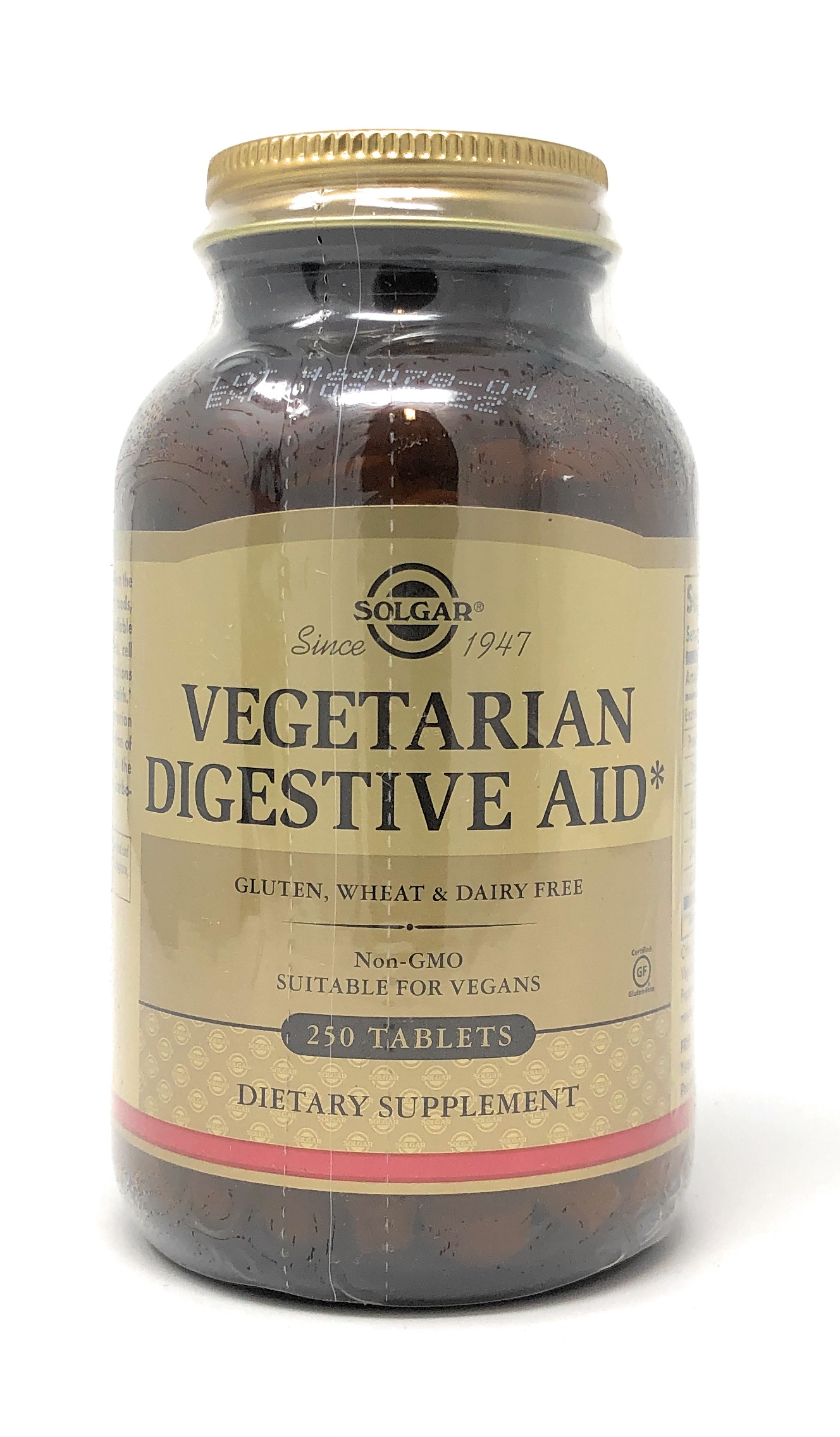 Solgar Vegetarian Digestive Enzymes 250 Tabletten (vegan)