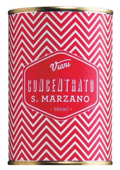 Il pomodoro più buono Concentrato di pomodoro San Marzano Tomatenmark 400g Dose