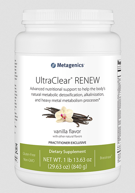 Metagenics UltraClear® RENEW Vanilla 840g Pulver