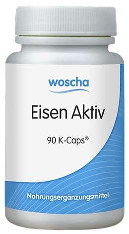 woscha Eisen Aktiv 90 K-CAPS® (38g) (vegan)