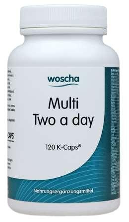 Woscha Multi Two a Day 120 K-CAPS® (vegan) (104g)