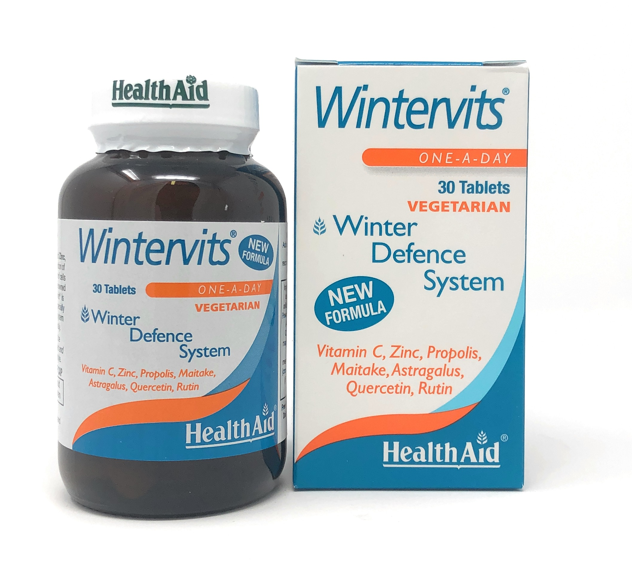 HealthAid Wintervits® (Vitamin C, Zink, Propolis, Maitake ++) 30 Tabletten