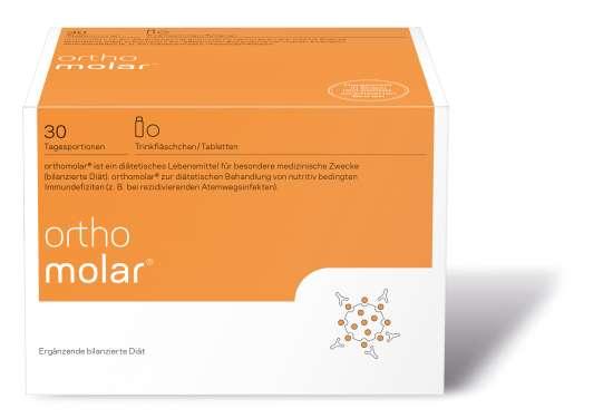 orthomed orthomolar® 30 Trinkfläschchen  (30x 20ml = 600ml)