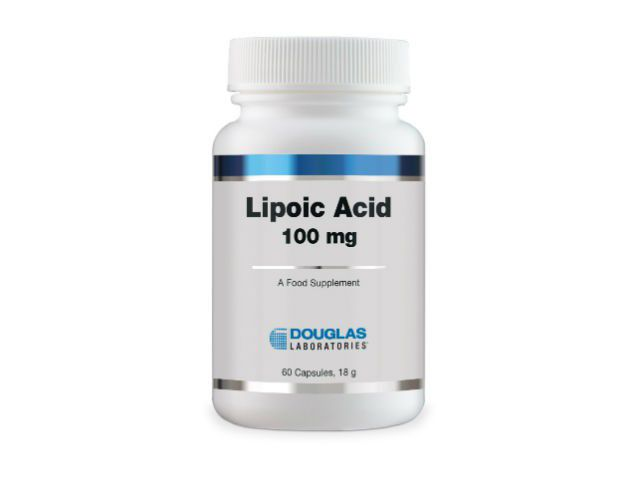 Douglas Laboratories Lipoic Acid 100 mg (Alpha-Liponssäure) 60 Kapseln (18g)