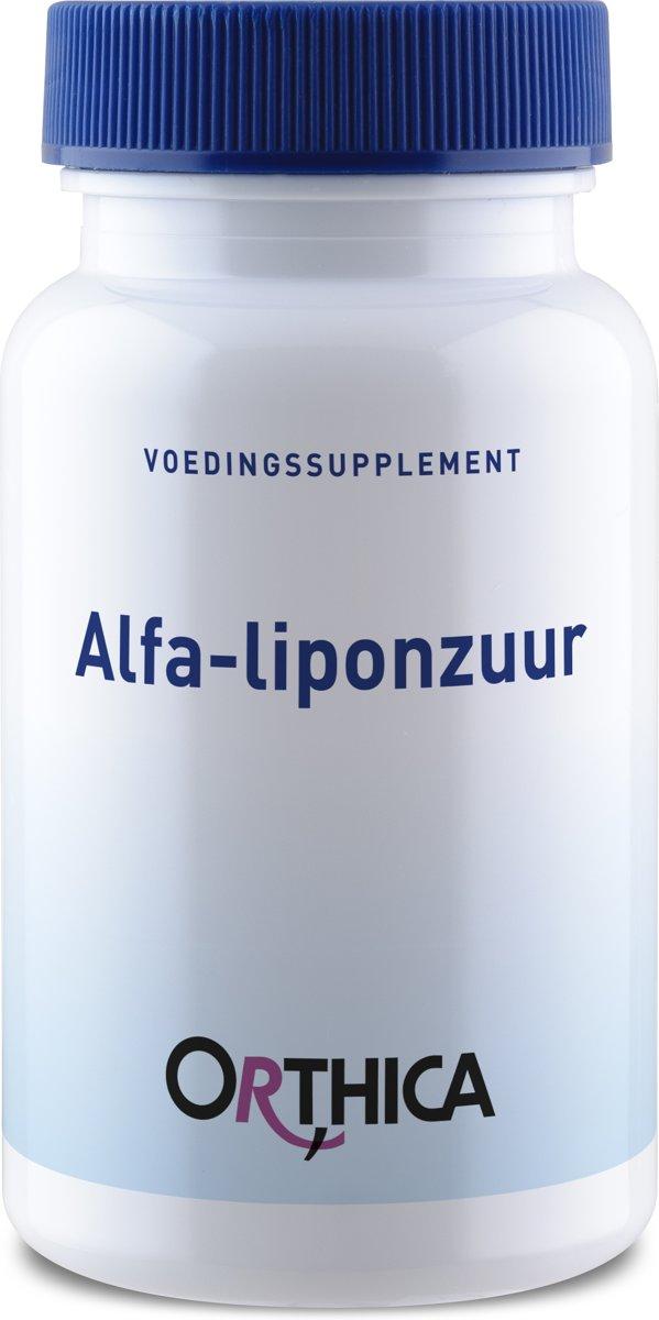 Orthica Alfa-liponzuur (Alpha-Liponsäure) 60 Kapseln