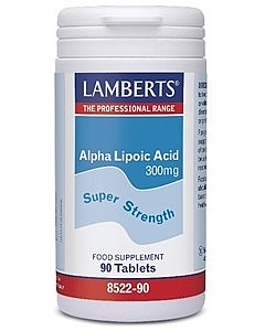 Lamberts Healthcare Ltd. Alpha Lipoic Acid 300mg [Alpha-Liponsäure] 90 Tabletten