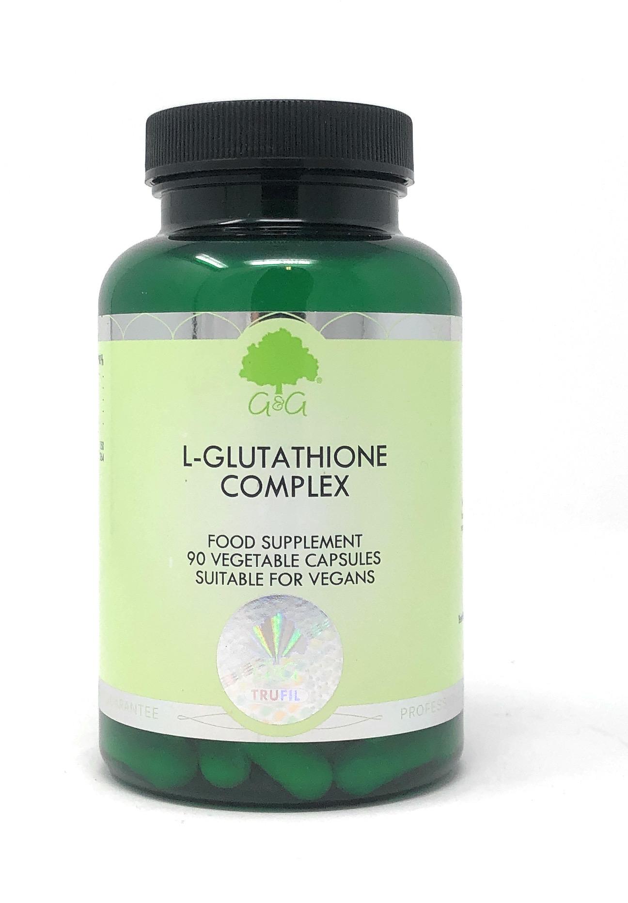 G&G Vitamins Glutathione Complex 90 veg. Kapseln (57,2g) (vegan)