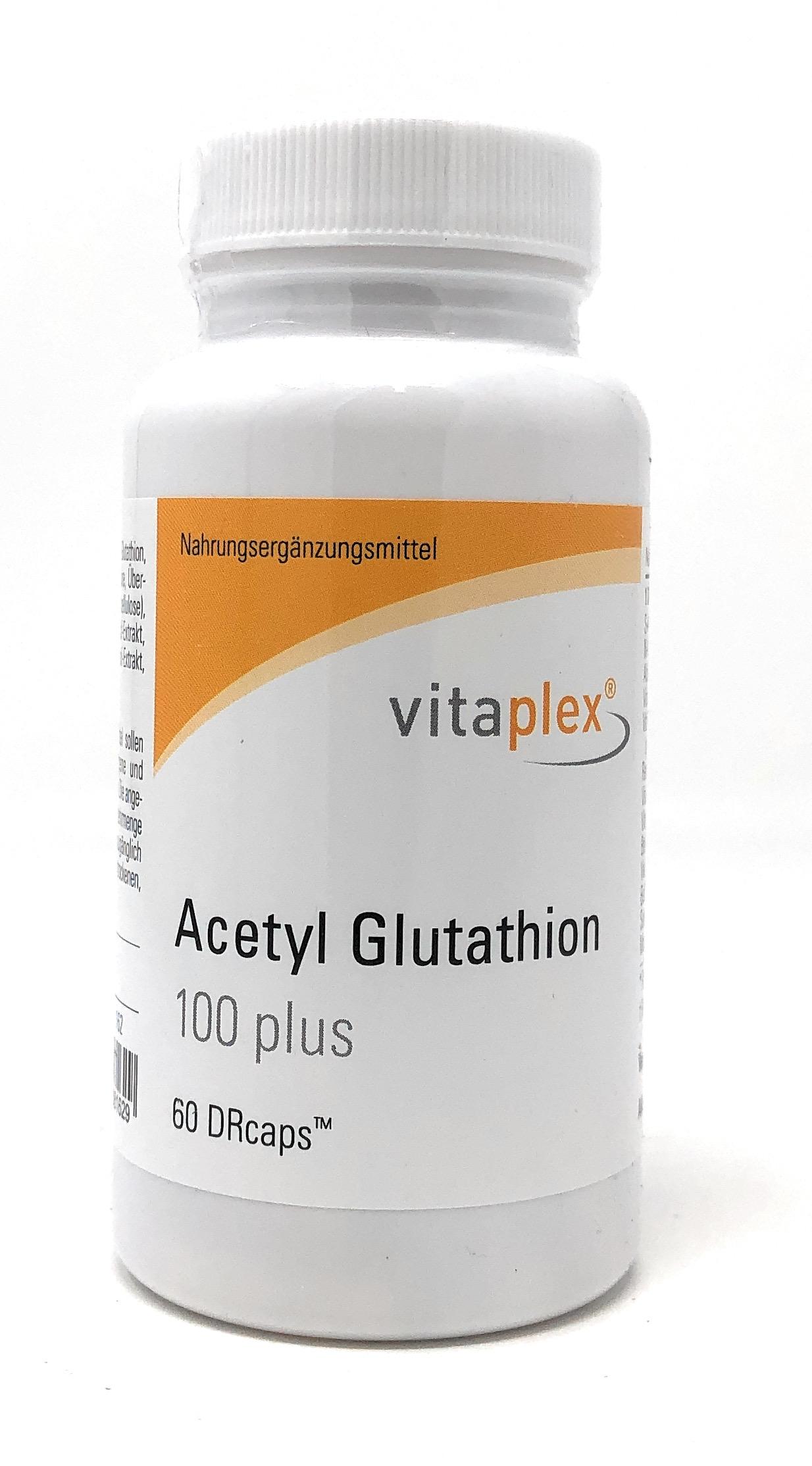 Vitaplex Acetyl Glutathion 100 plus 60 DRcaps