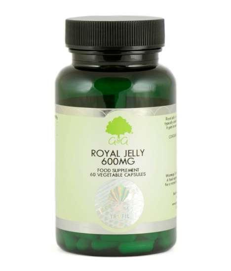 G&G Vitamins Royal Jelly (Gelée Royale) 600mg 60 veg. Kapseln (36g)