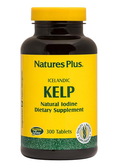 Natures Plus Kelp (Seetang 150mcg Jod) 300 Tabletten (166,3g)