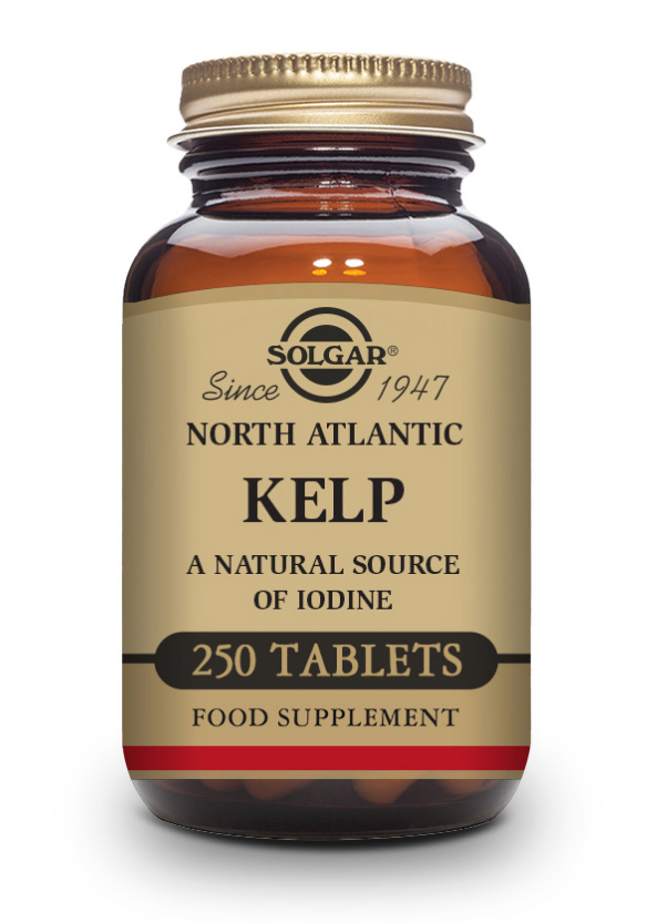 Solgar North Atlantic Kelp Tablets 250 Tabletten (vegan)
