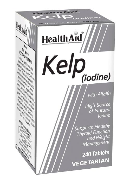 HealthAid Kelp (iodine / Jod) with Alfalfa 240 Tabletten