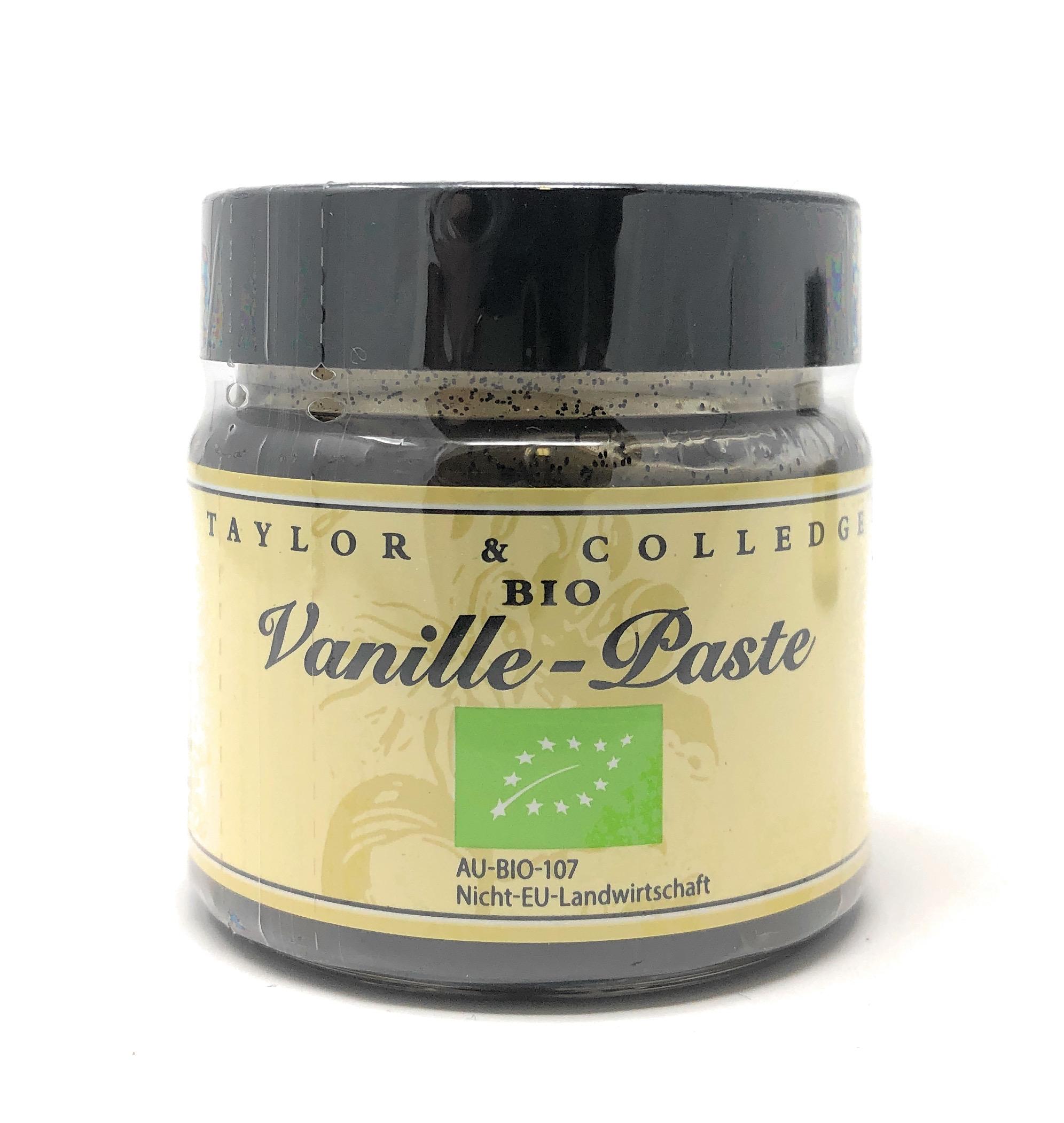 Taylor & Colledge Bio Vanille-Paste 65g Dose (DE-ÖKO-006)