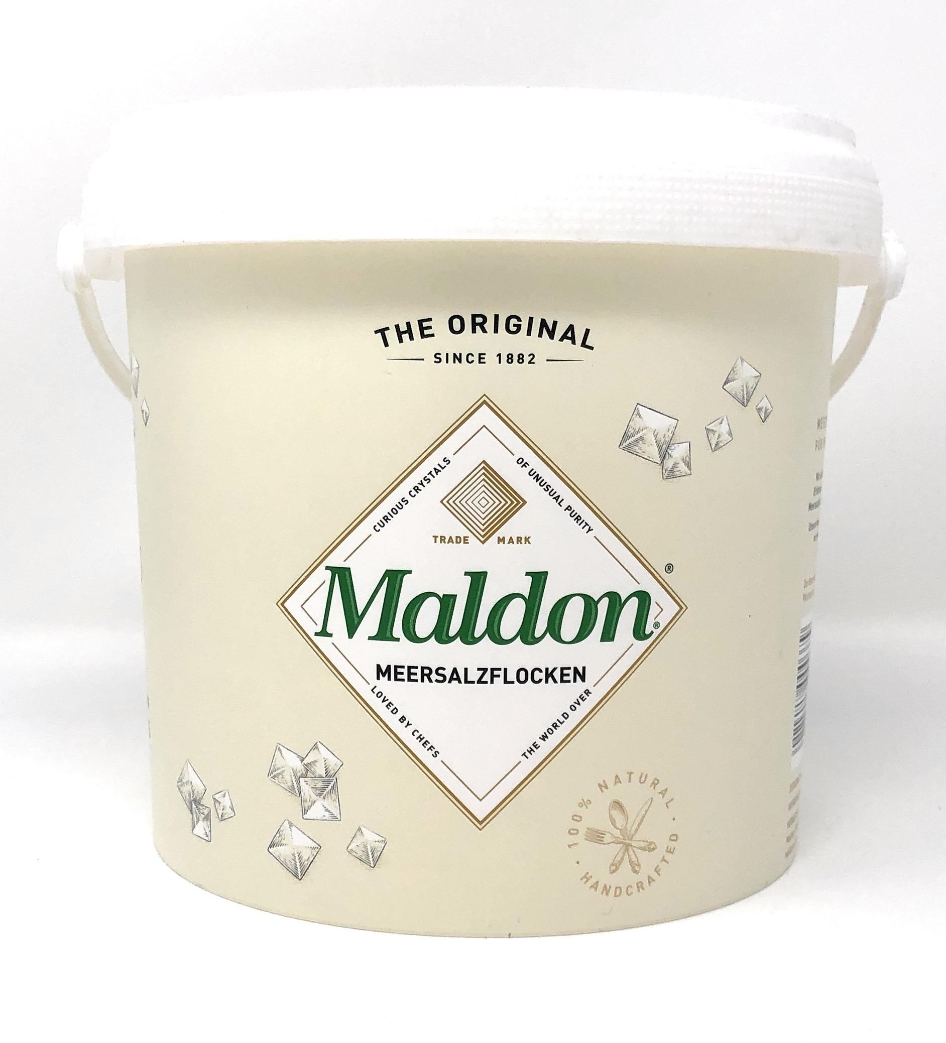 Maldon Sea Salt Flakes Meersalzflocken 1,4kg Eimer