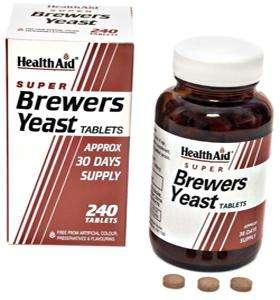 Health Aid Brewers Yeast 240 Tabletten (vegan)