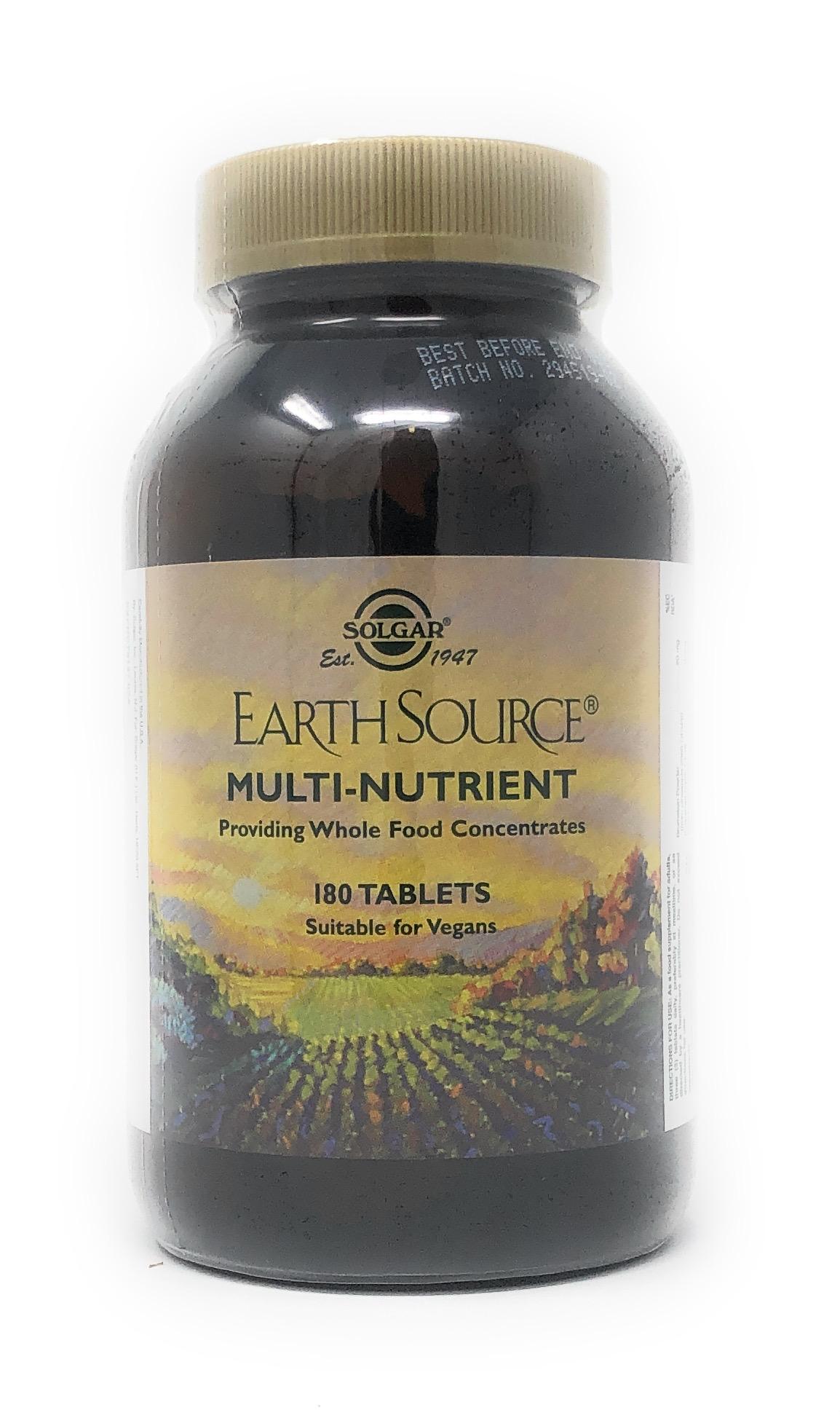 Solgar Earthsource® Multi-Nutrient 180 Tabletten (vegan)