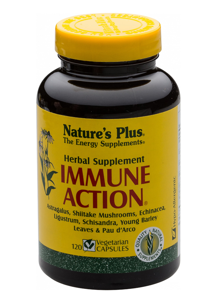 Natures Plus Immune-Action®l 120 veg. Kapseln (101,7g)