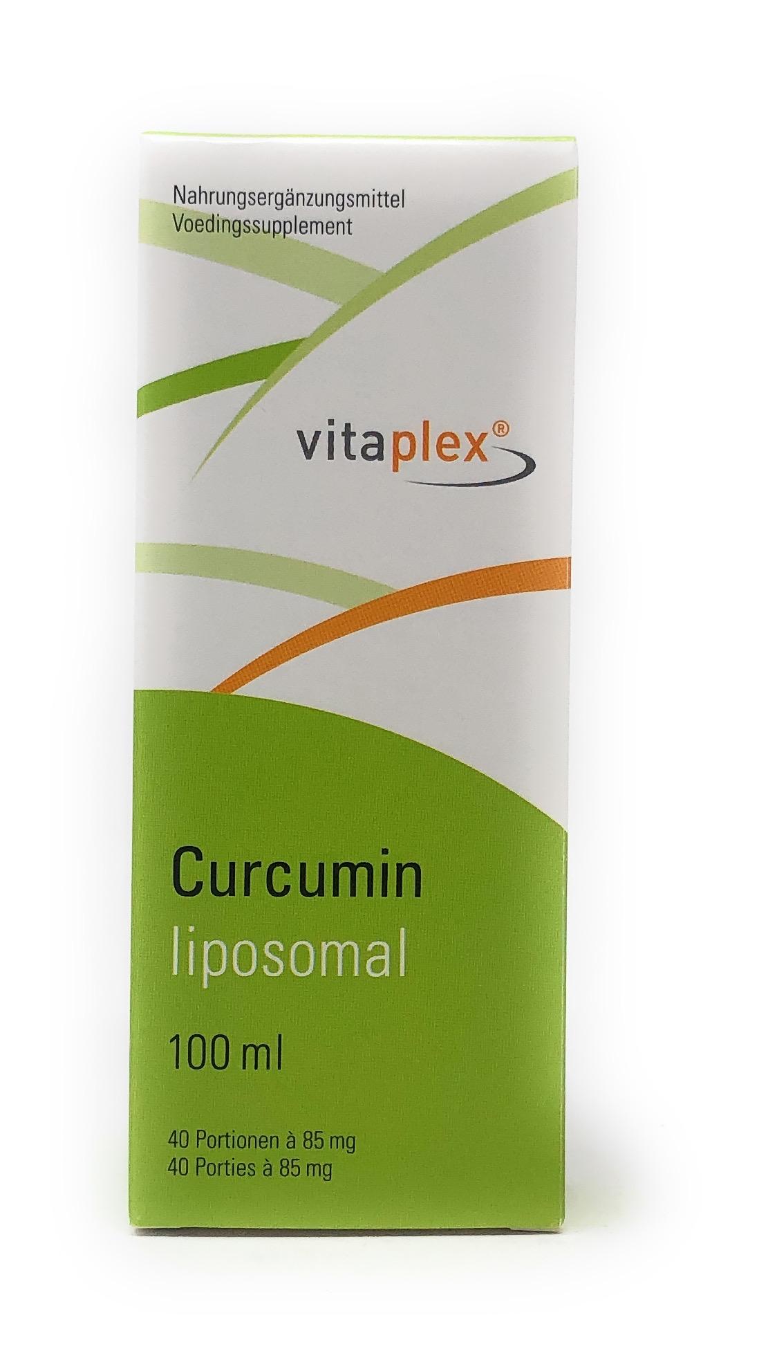 Vitaplex Curcumin C3 Complex liposomal  100ml (40 Portionen à 85mg)