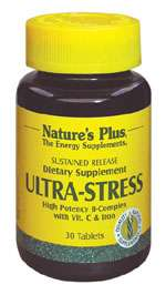 Nature's Plus Ultra Stress with Iron - Sustained Release 30 Tabletten S/R