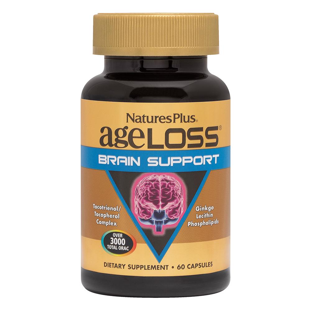 Natures Plus AgeLoss Brain Support 60 veg. Kapseln