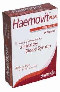 Health Aid Haemovit® Plus Blisterverpackung  30 Kapseln