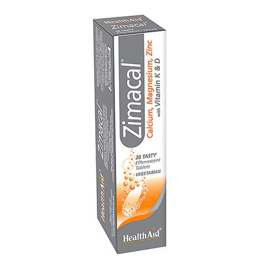 Health Aid Zimacal (Cal, Mag, Zink,t.D, Vit.K) 20 Brausetabletten