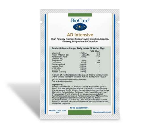 Biocare AD Intensive 1 Beutel à 10g (vegan)