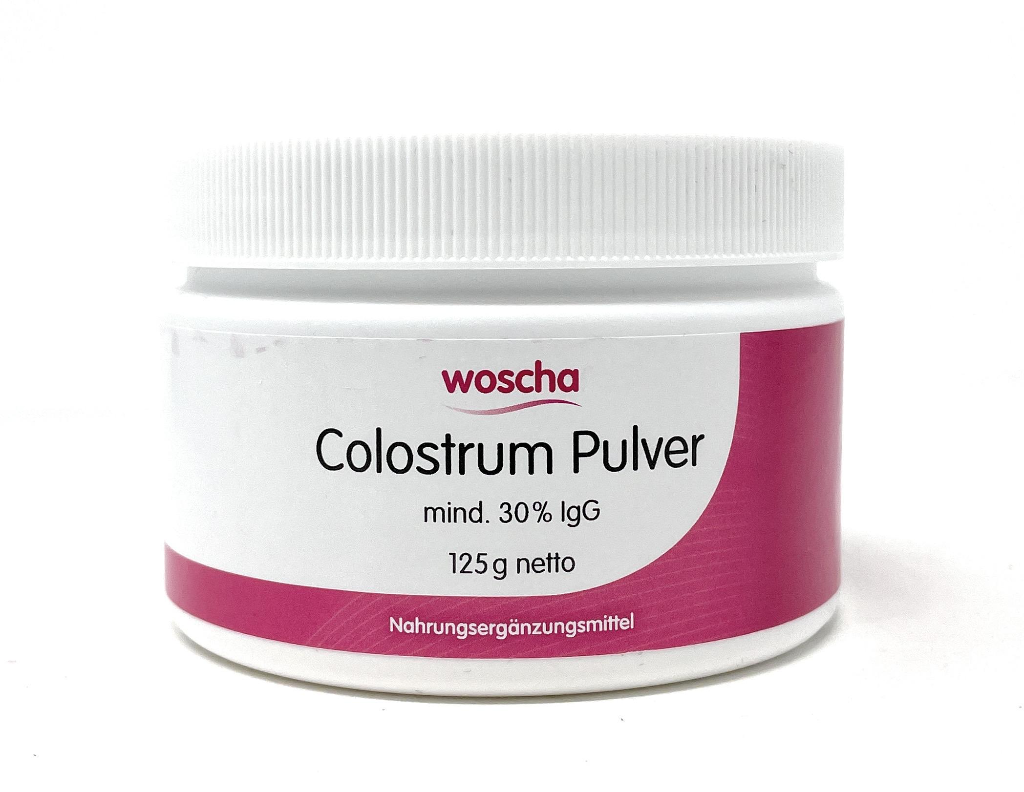 woscha Colostrum Pulver (mind. 30% IgG) 125g Pulver