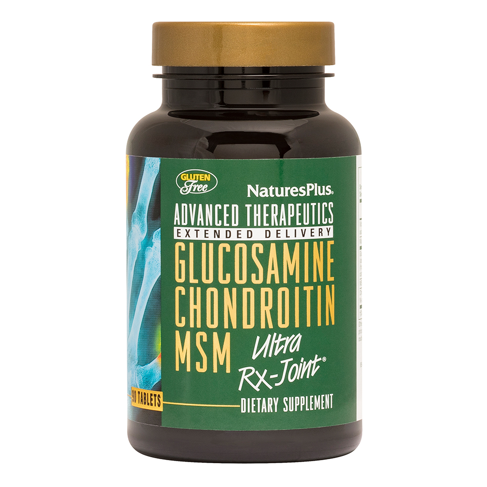 Natures Plus Glucosamine/Chondroitin/MSM Ultra Rx-Joint® 90 Tabletten (173,1g)