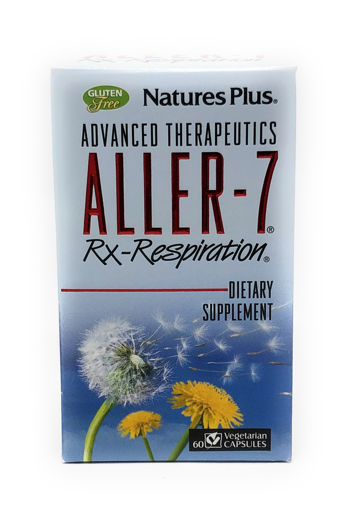 Natures Plus Aller-7 Rx-Respiration 60 veg. Kapseln