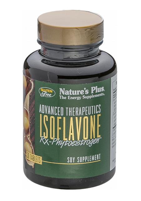Natures Plus Isoflavone Rx-Phytoestrogen® (125 mg Isoflavone) 30 Tabletten