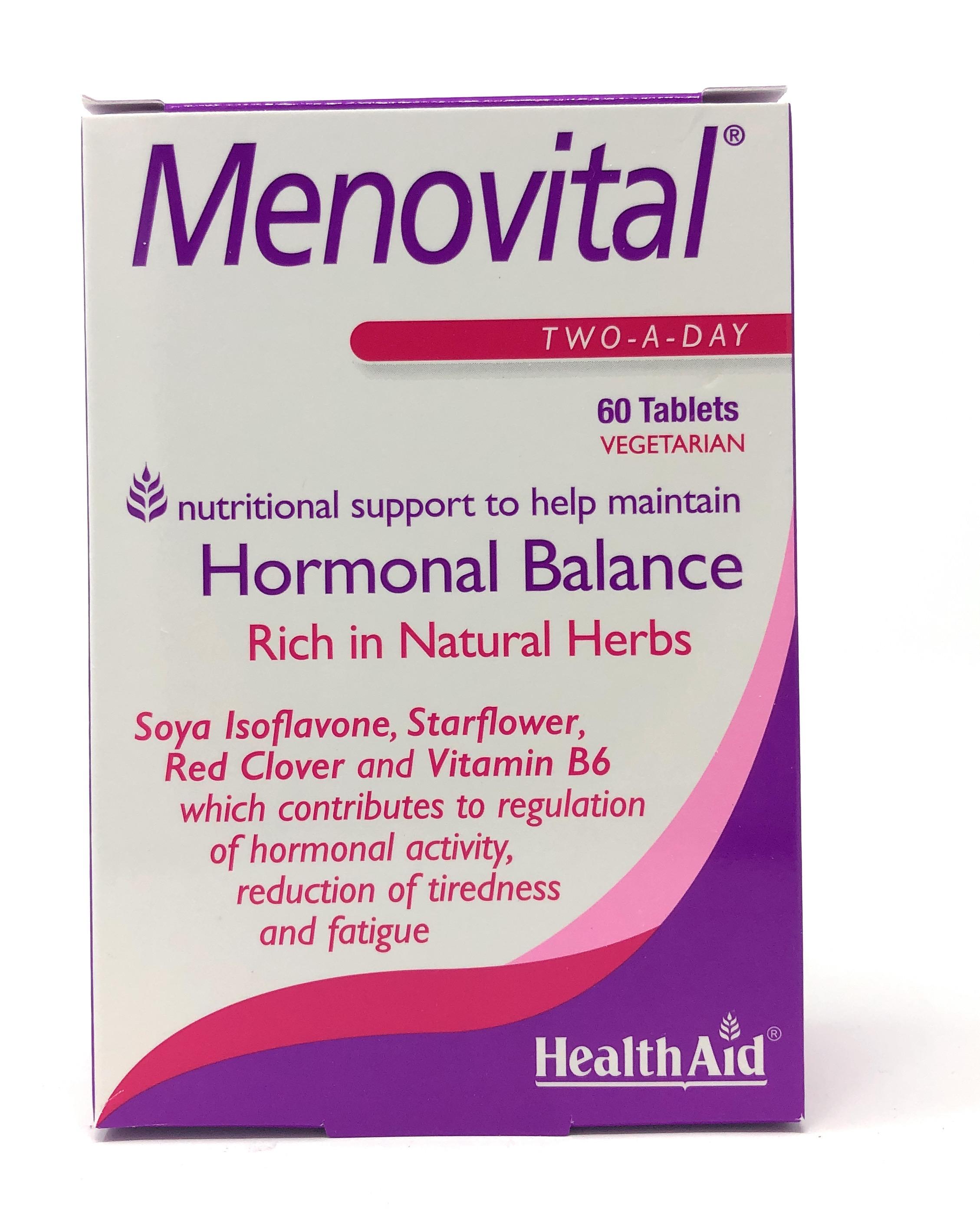 HealthAid Menovital® Blisterverpackung 60 Tabletten