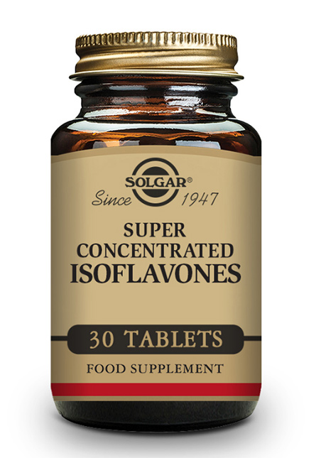 Solgar Super Concentrated Isoflavones 30 Tabletten (vegan)