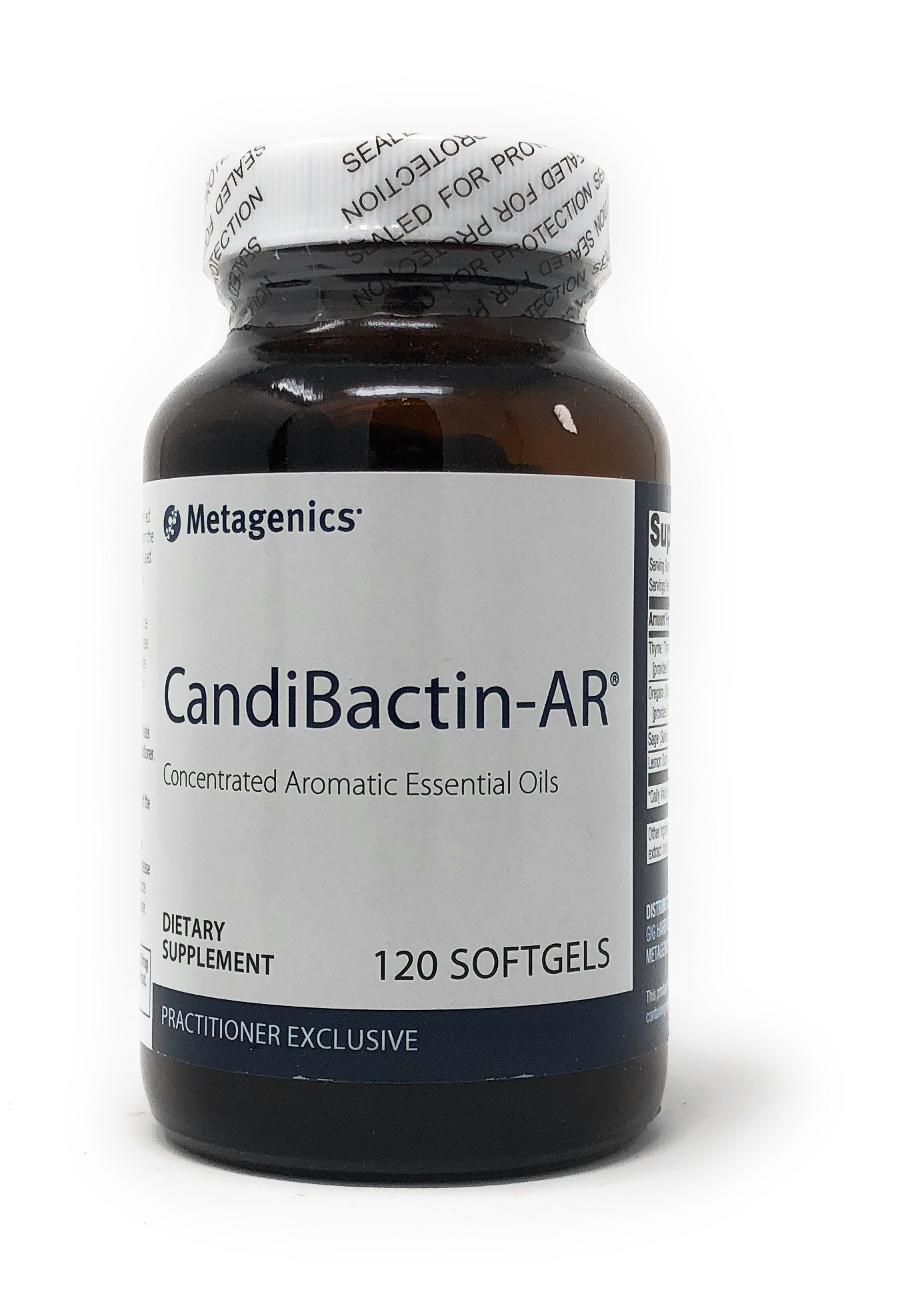 Metagenics Candibactin-AR® 120 Softgels