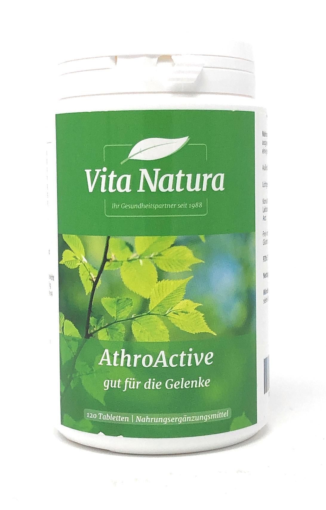 Vita Natura AthroActive 120 Tabletten (294g)