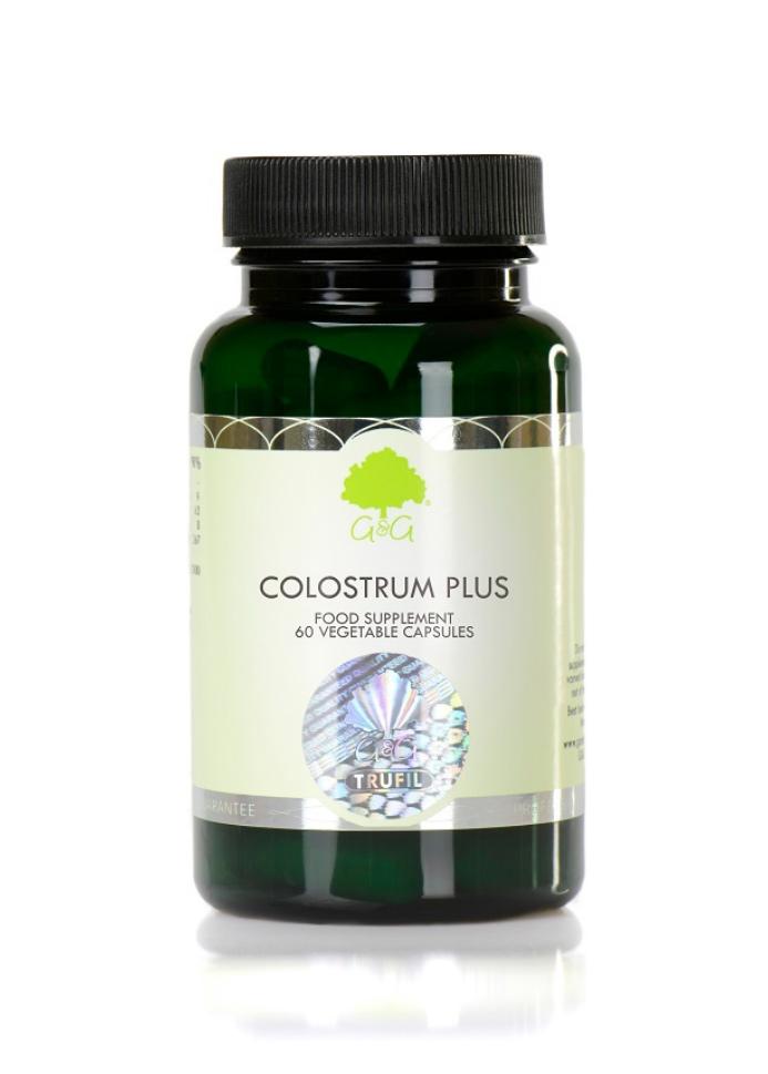 G&G Vitamins Colostrum Plus 60 veg. Kapseln (31,8g)