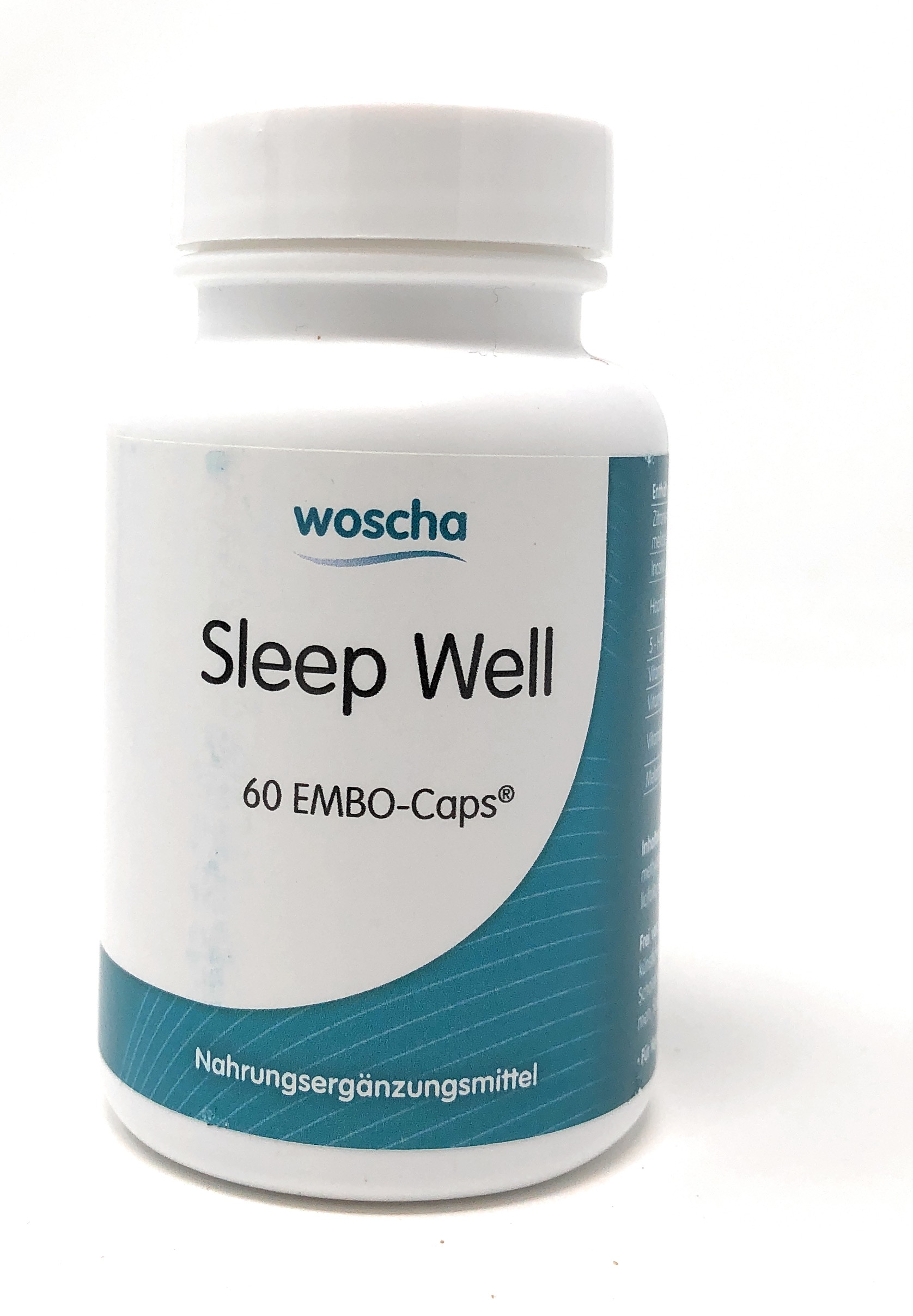 woscha Sleep Well 60 Embo-Caps (52g)(vegan)