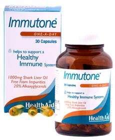 Health Aid Immutone® Shark Liver Oil 1000mg (Haifischlebertran) 30 Kapseln