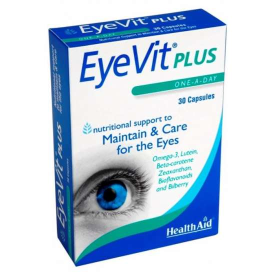 Health Aid EyeVit® Plus 30 Kapseln