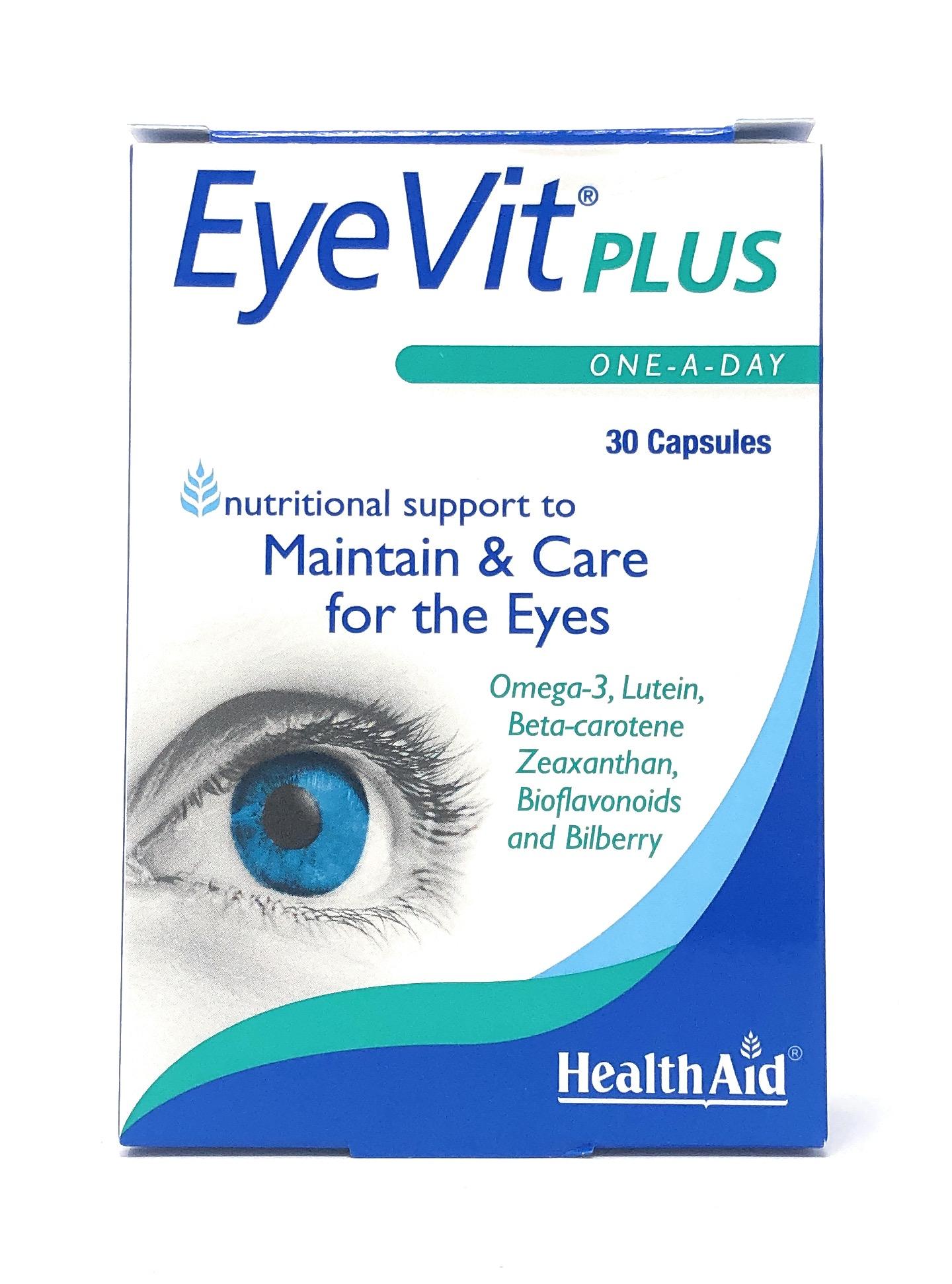 HealthAid EyeVit® Plus 30 Kapseln