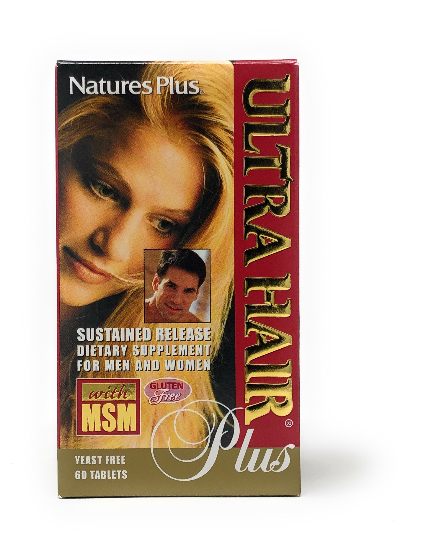 Natures Plus Ultra Hair Plus 60 Tabletten S/R verz. Freisetzung (121,6g)