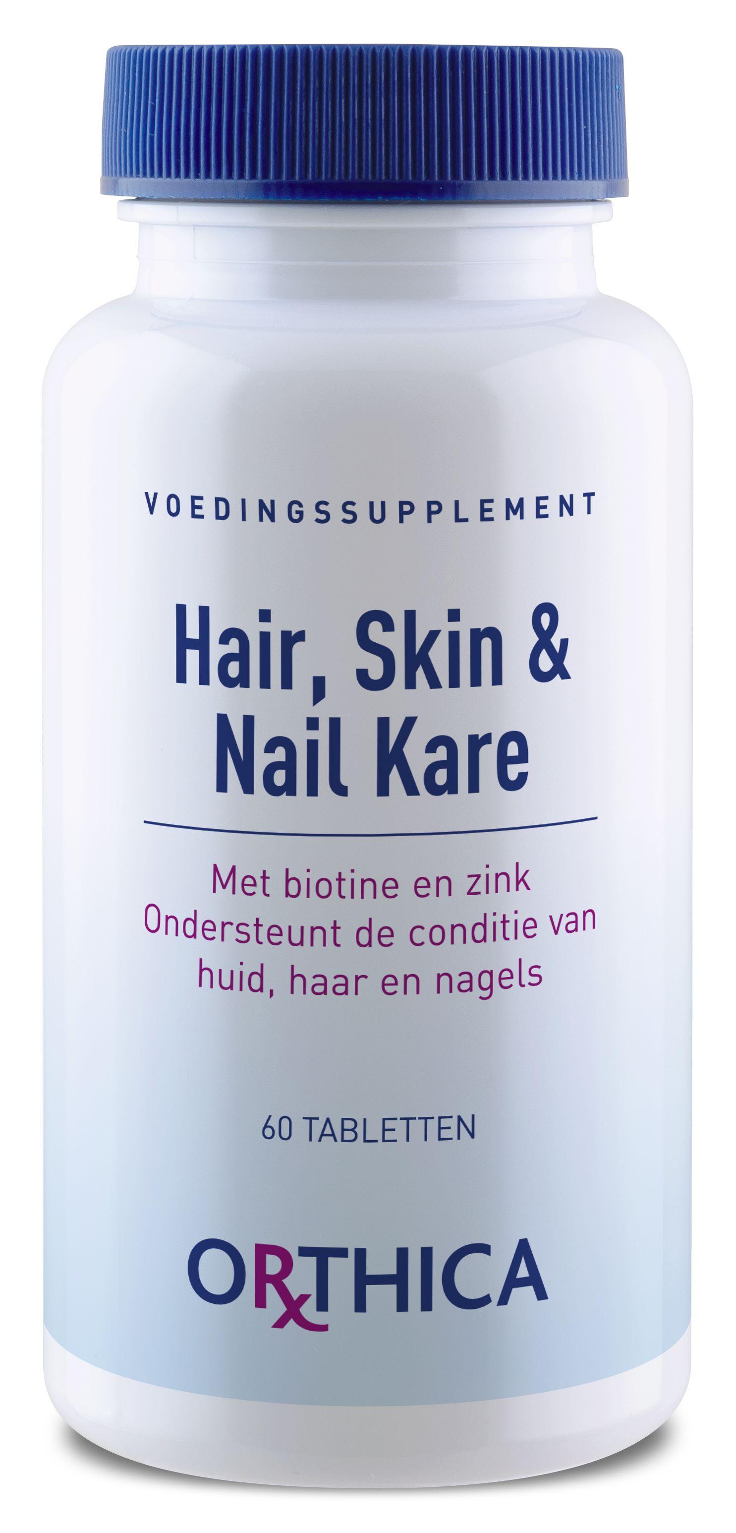 Orthica Hair, Skin & Nail Kare 60 Tabletten