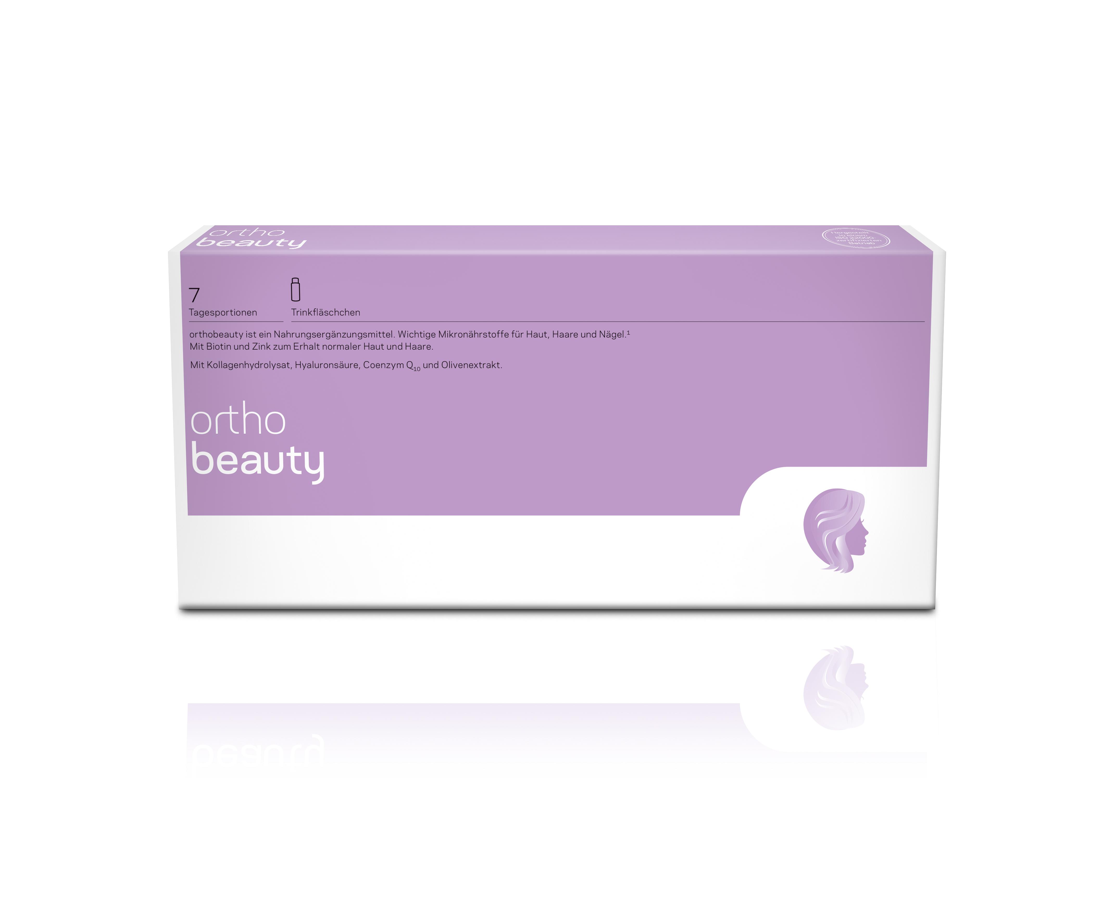 orthomed orthobeauty® 7 Trinkfläschchen à 20ml/22g (7x22g = 154g)
